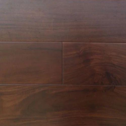 Brown Textured Solid Wood Floor
