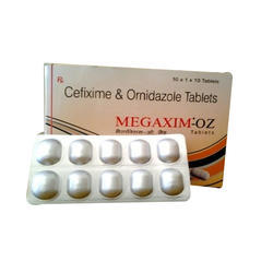 Cefexime And Ornidazole Tablets