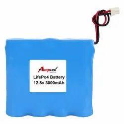 Lifepo4 Battery Pack 12.8V 3000 Mah