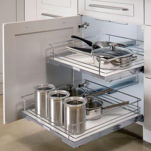 Magic Corner Kitchen Cabinet Kitchen Cabinet Gaja Interior Navi Mumbai Id