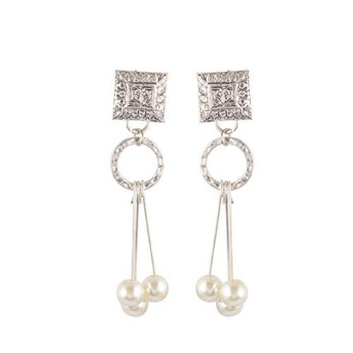 1a1e689b7 Silver Oxidized Dangle And Drop Earrings at Rs 219  pair