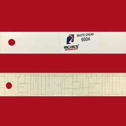 White Cheak Edge Band Tape