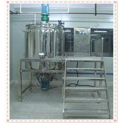 Body Lotion Mixing Machine