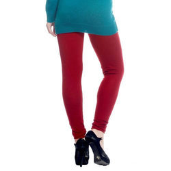 Plain Ladies Woolen Churidar Legging