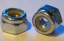 Stainless Steel SS Nylock Hex Nut, Size: M16