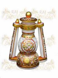 Marble Lantern Lamp