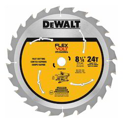 Dewalt FlexVolt Table Saw Blades, Size/dimension: 210 Mm