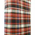 Check Designer Poly Cotton Mattress Fabric
