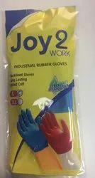 Joy 2 Work Industrial Rubber Hand Gloves