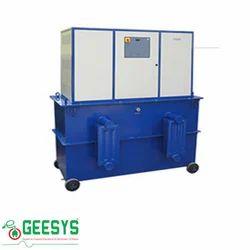 Servo Controlled Voltage Stabilizer Oil Cooled