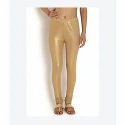 Ladies Casual Shimmer Leggings