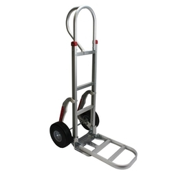 Cast Iron 2 Wheels Hand Cart, Capacity: Upto 100kg