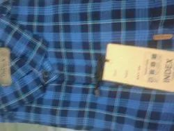 Index Blue Check Shirts