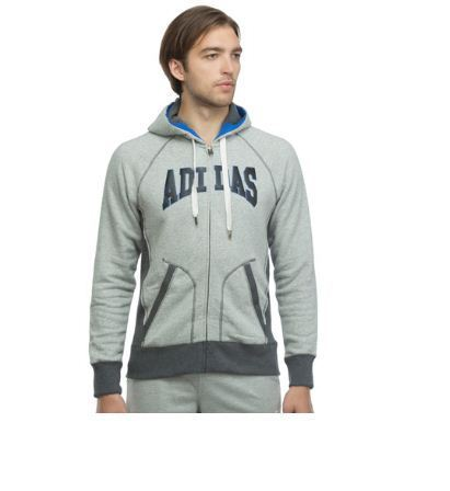 Mens Neo Collegiate Fleece Zip Hoodie, Gents Zip Hoodies, ??????? ?? ???? ???? ??????, ???? ???? ?????? Adidas Exclusive Store, Bengaluru | ID: