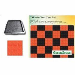 Tm-103 Cloud Floor Tile Mold