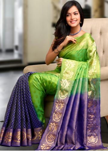 Wedding Wear And Festive Pure Kanchipuram Soft Silk Saree