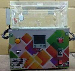 Radha Krishan Single Velvet Pencil Making Machine, Production Capacity: 480