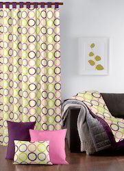 Woven  Printed Curtain