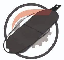 NEPC 250 KW Organic Brake Pads
