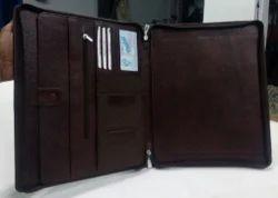 Leather Unisex Portfolio, Size/Dimension: 32*26 Cm