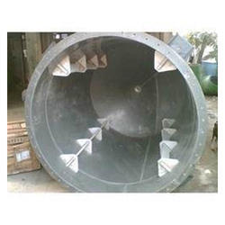 Stainless Steel PVDF Vessel, Capacity: 1000-10000L
