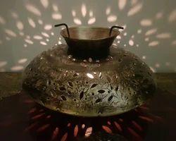 Shubham Arts Gold Color Iron Table Decor Tea Light Holder