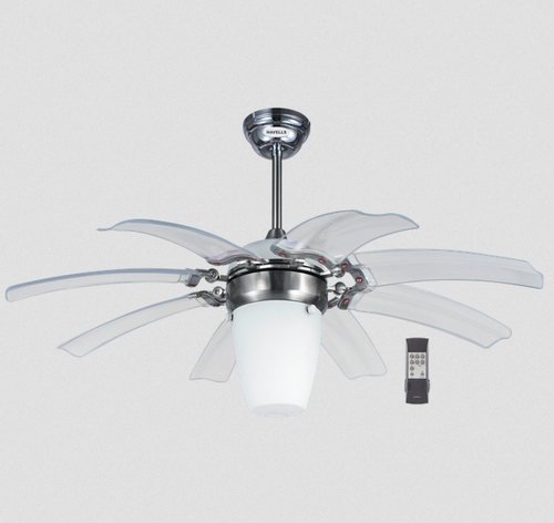 Brushed nickel opus folding ceiling fan rs 35650 piece samarth brushed nickel opus folding ceiling fan aloadofball Image collections