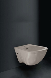 Wall Mounted Bidet Grey Bromine Le Forme