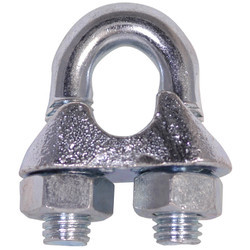 Iron Silver Wire Rope Clamp