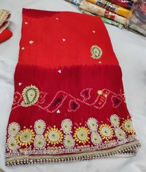 Gota Patti Work Chunri For Ladies