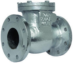 Flanged End Cast Steel Non Return Valve