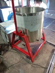 1245 Stainless Steel Potato Boiling Kettle, Capacity(Litre): 130 Liter