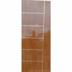 PVC Polished Fiber Laminated Door, Interior, Single
