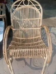 Cane Wood Rest Chair