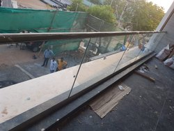 Glass Handrail Work