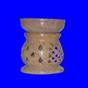 Natural Round Soapstone Oil Burner