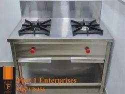 Double Burner Gas Stove
