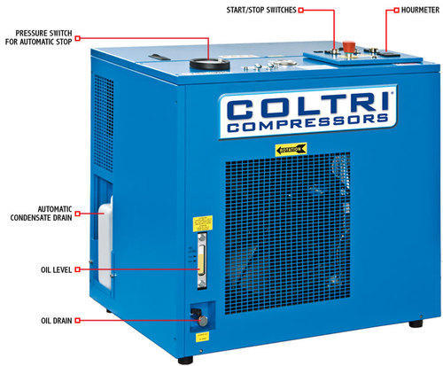 Coltri Breathing Air Compressors MCH 13/16/18   ID: 17035444391