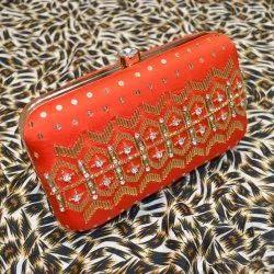 Stone Pipe Design Ladies Handbag