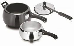 Inner Lid Pressure Cooker Combo Pack 2 Pcs