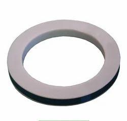 Aflon Engineering Teflon Gasket, Thickness:0.5-1 mm