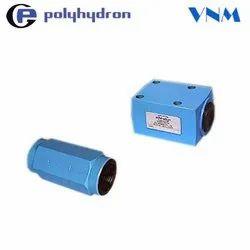 Polyhydron check valve