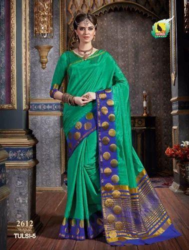 2b369c147b5 Ashika Tulsi Tussar Silk Sarees at Rs 925  piece
