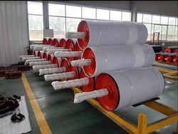 Conveyor Pulleys And Drums, Capacity: 5 Ton