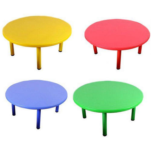 Plastic Kids Round Table Dimension, Kids Round Table