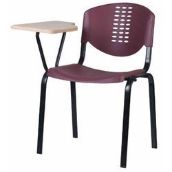 Plastic Molded Writing Pad Chair