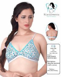 Flower Ladies Bra