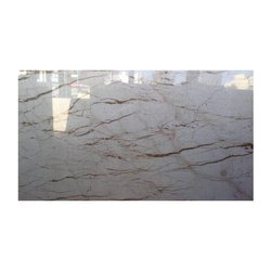 White Italian Marble Slab, Thickness: 15 mm, for Flooring