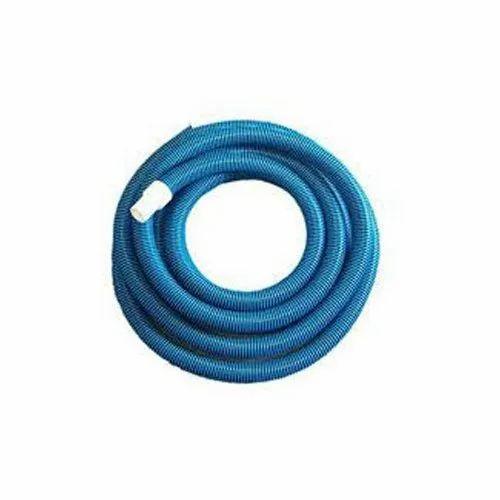 Blue Swimming Pool Vacuum Hose, Size: 1.5 Inch Diameter, Rs 2500 ...