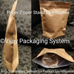Paper Zipper Stand Up Pouches